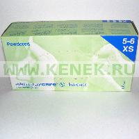 Sempercare Перчатки латекс, текстура на пальцах, Powder, нестерил, неанат/ф [№100]