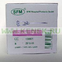 SFM Игла одноразовая инъекционная стерильная 18G (1,2 х 40 мм) [100шт/уп]