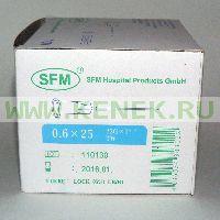 SFM Игла 23G (0,6 х 25 мм)