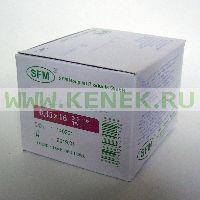 SFM Игла одноразовая инъекционная стерильная 26G (0,45 х 16 мм) [100шт/уп]