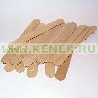 Шпатель деревянный НЕстерильный, 100шт, 140 х 17 х 1.7мм, Россия