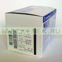 Terumo Neolus Игла одноразовая инъекционная стерильная 22G (0,7 х 30 мм) тонкая стенка
