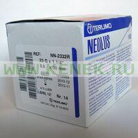 Terumo Neolus Игла одноразовая инъекционная стерильная 23G (0,6 х 30 мм) тонкая стенка