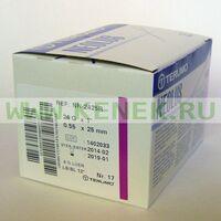 Terumo Neolus Игла одноразовая инъекционная стерильная 24G (0,55 х 25 мм) тонкая стенка