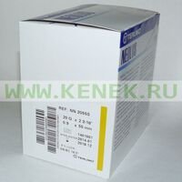 Terumo Neolus Игла одноразовая инъекционная стерильная 20G (0,9 х 55 мм) короткий срез