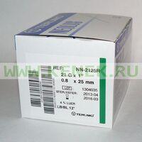 Terumo Neolus Игла одноразовая инъекционная стерильная 21G (0,8 х 25 мм)