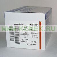 Terumo Neolus Игла одноразовая инъекционная стерильная 26G (0,45 х 23 мм)