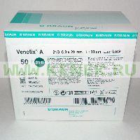 B.Braun Venofix A Игла-бабочка 21G (0,8 х 20 мм) [50шт/уп]